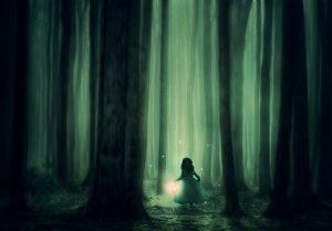 дете светлина път