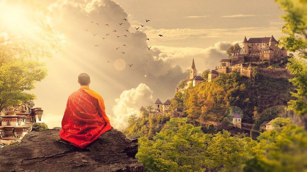 знак медитация