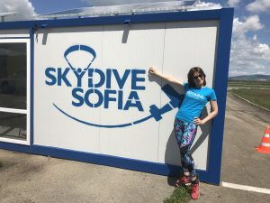 Skydive-приземена-скок