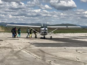 Skydive-самолет