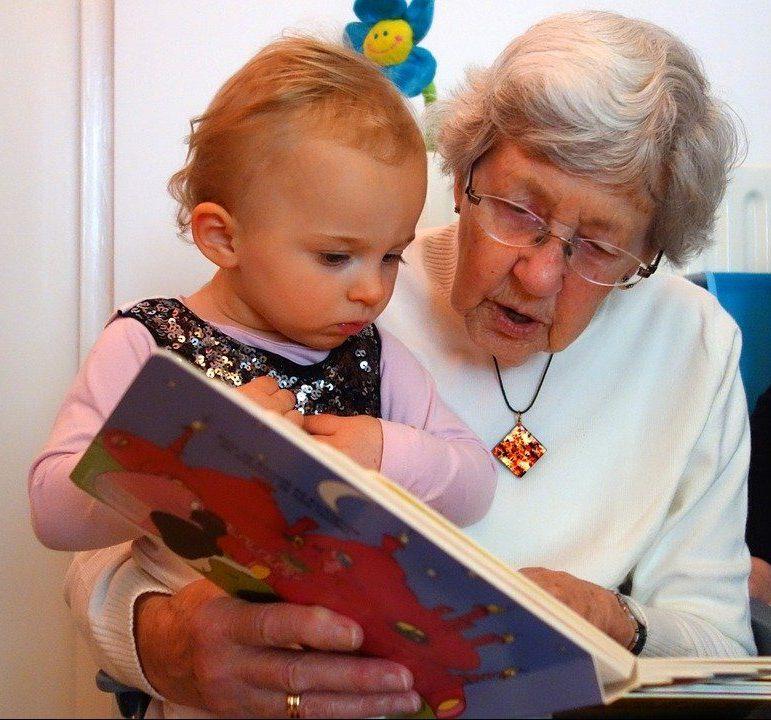 баба внуче приказка